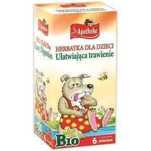 Herbatka ułatwiająca trawienie dla dzieci od 6 miesiąca